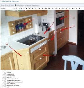 Ordnung schaffen, Küche