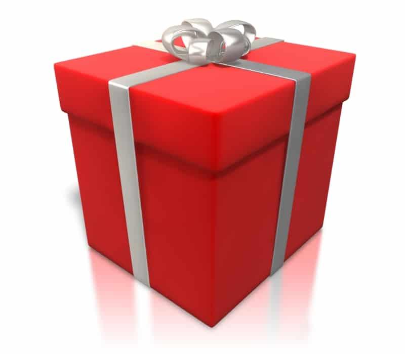 Geschenk, Weihnachten
