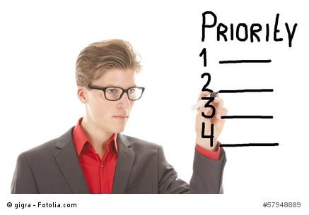 Priorität, Todo