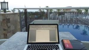 Urlaub und Arbeit