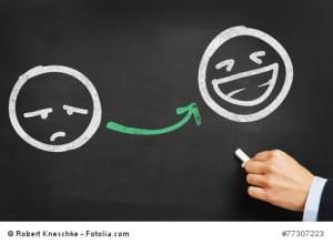 Emotionen folgen auf Handlungen