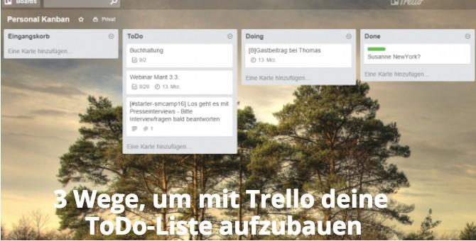 ToDo-Liste Trello