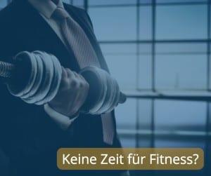 keine Zeit für Fitness