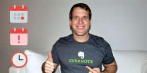 Evernote-Erinnerung