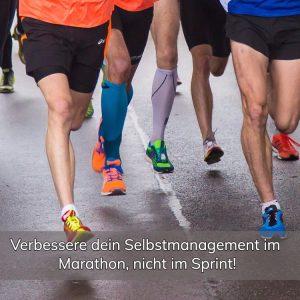 selbstmanagement marathon