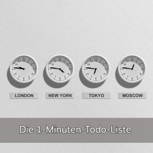 1-Minuten-Todo-Liste