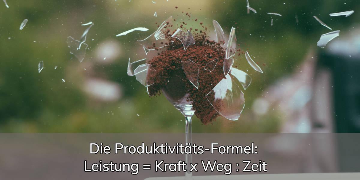 Produktivitäts-Formel