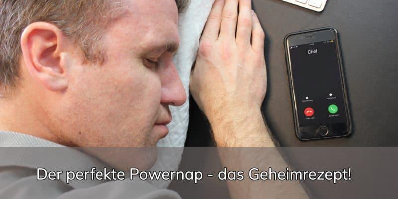 Powernap Anleitung