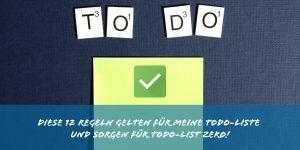 Todo-Liste Regeln