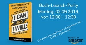 Buch-Launch-Party
