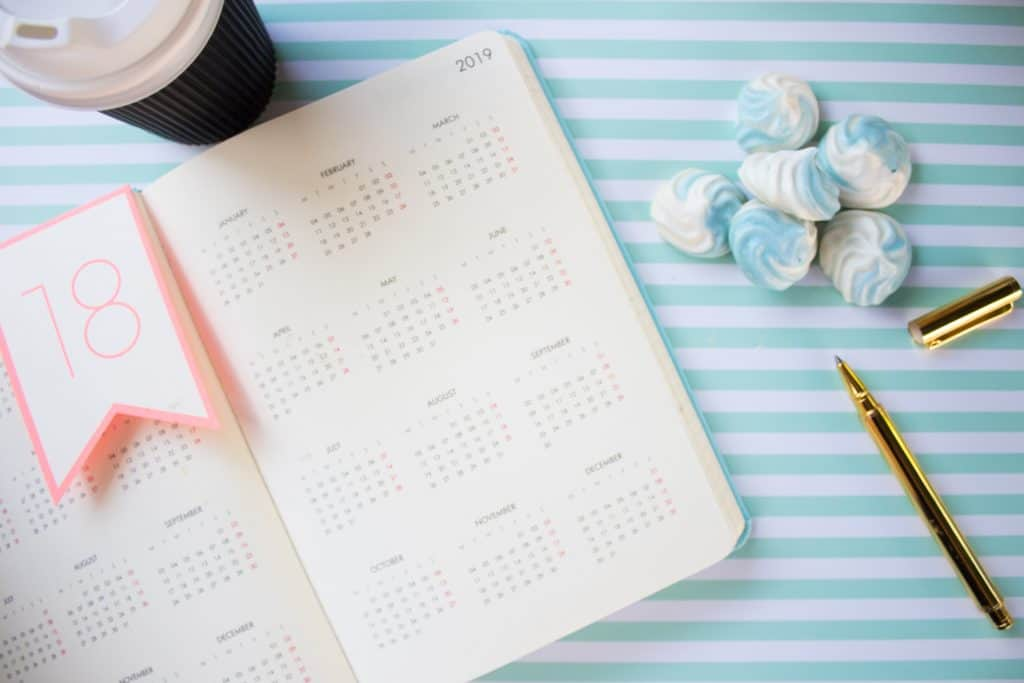 Umgang mit dem Kalender